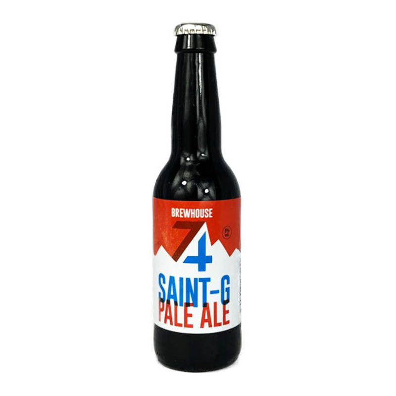 Saint-G Pale Ale Brewhouse 33cl
