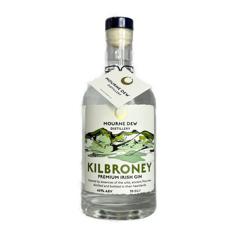 Kilbroney Irish Premium Gin Mourne Dew