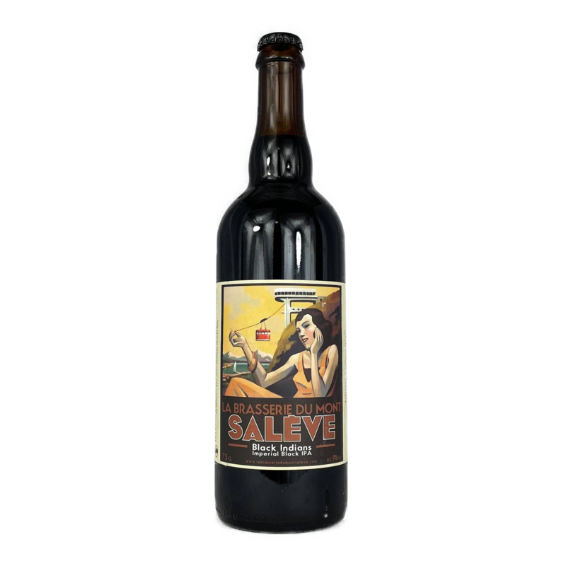 Black Indians IPA Salève 75cl