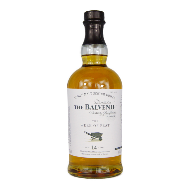 Balvenie 14 ans The Week of Peat